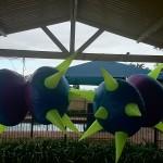 Inflatable UFO Decor