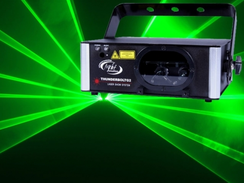 light emotion dual green laser