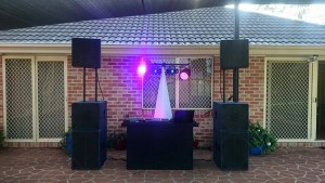 Dance Party Hire Mobile DJ