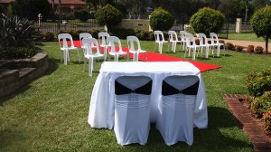 wedding cermony hire