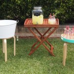wedding ceremony food & drinks table