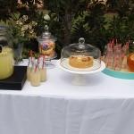 wedding ceremony food table