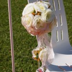 hanging rose ball hire