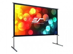 elite screen rear projector