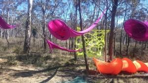 custom purple lycra drapes