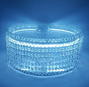 cake stand with light